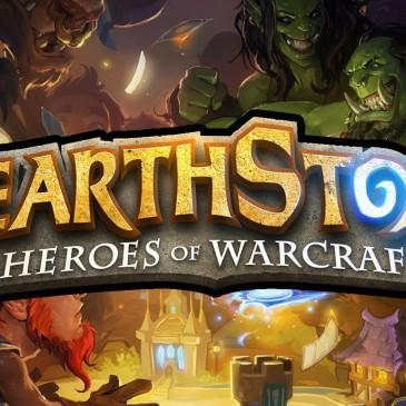Hearthstone: Heroes of Warcraft,  juego de cartas online.